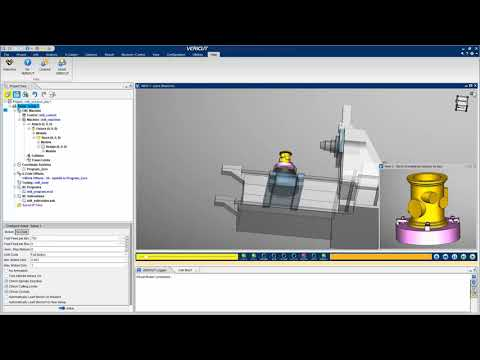 Introduction to a VERICUT Simulation