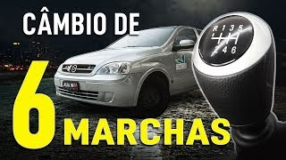 CÂMBIO DE 6 MARCHAS DO CORSA CHEGOU! - FT. DISPLATEC