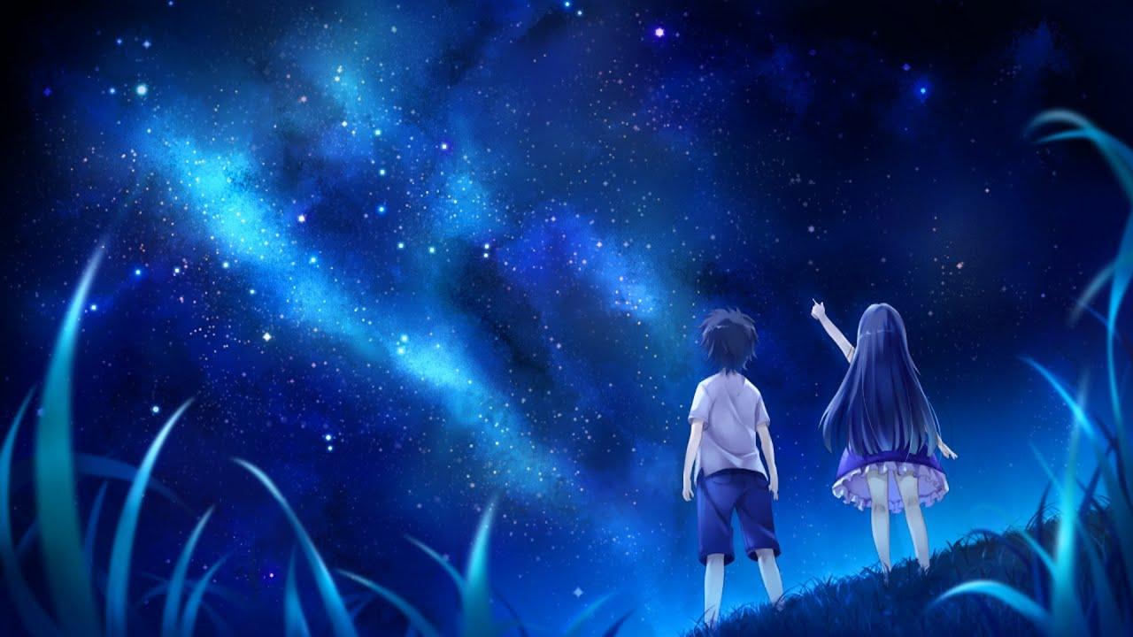 Night Moon Romance Love Stars Sky Clouds Wallpaper: Unbreakable (Elephante Remix) [Progressive