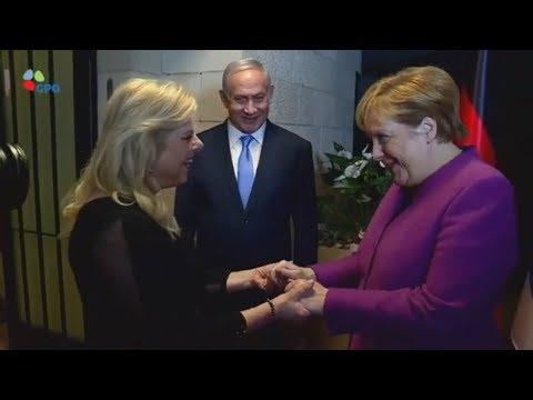 SCHWIERIGE MISSION: Angela Merkel besucht Israel