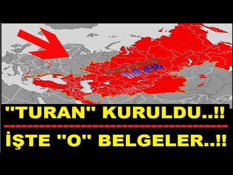 TURAN KURULDU....! İŞTE ''O'' BELGELER..!!