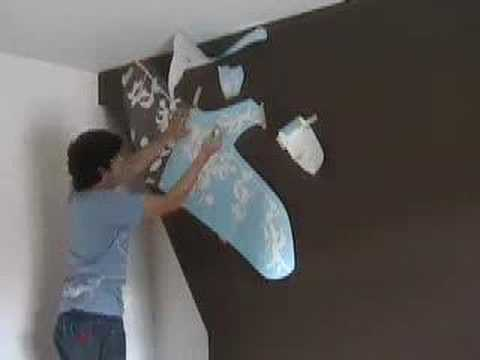 How to fit Wall Stickers (fast)