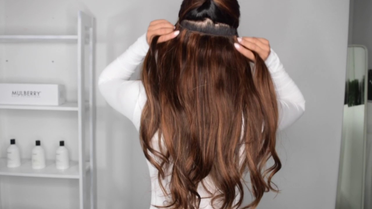 How to colour match your halo by mulberry hair extensions youtube how to colour match your halo by mulberry hair extensions pmusecretfo Images