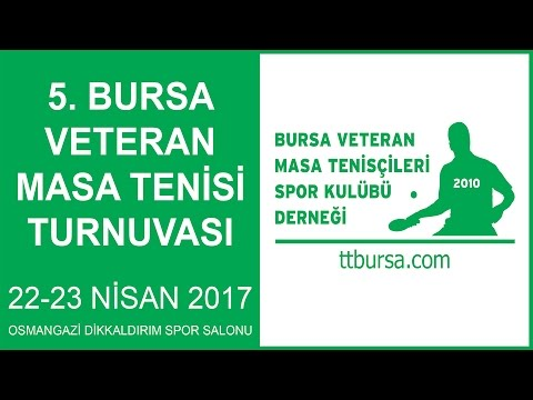 Bursa Veteran Table Tennis Tournament 2017