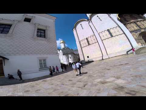 Moscow - Inside Kremlin - Churches, Churches, Churches.