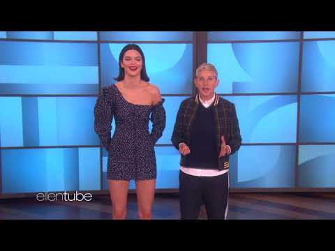 Kendall Jenner Plays High Fashion 'Heads Up!'