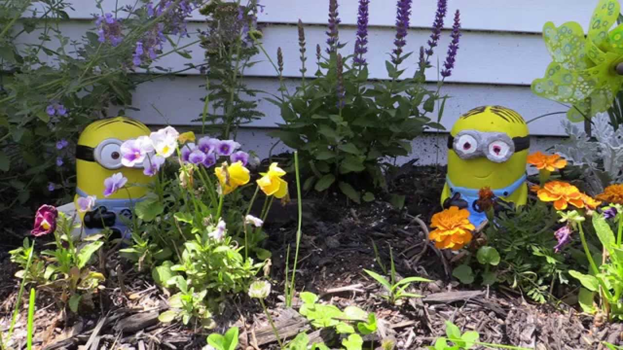 Despicable Me Minion Duplicating With ComposiMold. Create Lawn Ornaments,  And Cake Toppers!