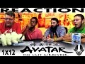 Avatar The Last Airbender 1x12 REACTION The Storm