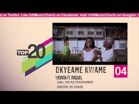 Top 20 Ghana Music Video Countdown - Week #23, 2013.