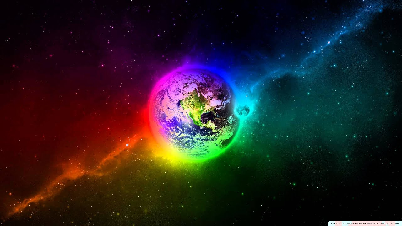 3d Rainbow Psychedeli Wallpaper Binaural Beat For Lucid Dreaming Mixed With Nasa Space