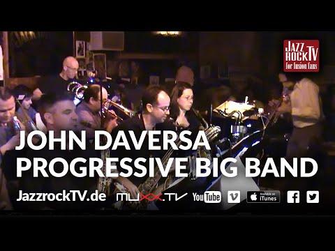JazzrockTV #18 John Daversa Progressive Big Band