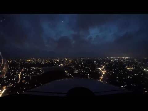 GoPro Night Flying Timelapse at Ratmalana Airport in 4K