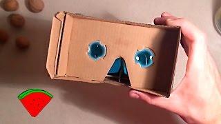 3D очки виртуальной реальности (c Алиэкспресс)*** DIY: Google Cardboard 360 Video (AliExpress)