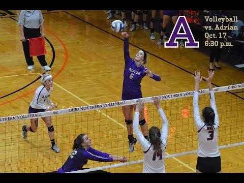 MIAA Volleyball - Adrian College vs. Albion College - Oct. 17, 2017