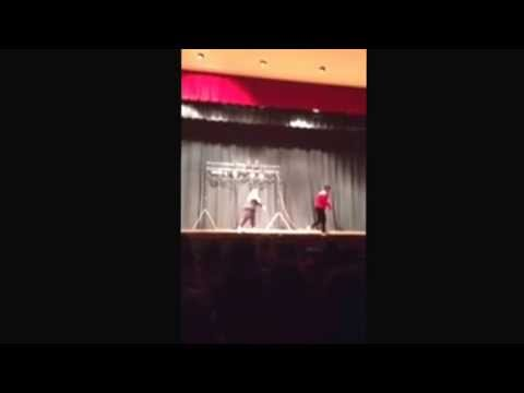 """Fitch Senior High School Talent Show: Dancing to Michael Jackson's """"Beat It"""" April 5th, 2014"""