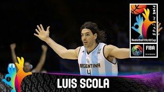 Luis Scola - Best Player (Argentina) - 2014 FIBA Basketball World Cup