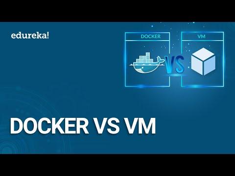 Docker Vs VM      Containerization Or Virtualization - The Differences   DevOps Training   Edureka