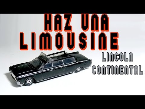 Limousine Lincoln Continental 1964 Hot Wheels