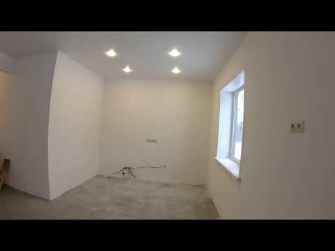 Одно-этажный дом 83 кв. м. из газобетона (сибита) с чистовой отделкой