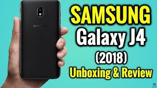 Samsung Galaxy J4 (2018) Unboxing & Review in Hindi | 3GB RAM 32GB Storage