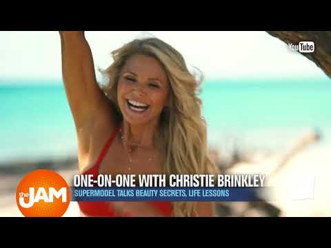 Christie Brinkley Shares Her Top Beauty Tip For Women 40 plus!