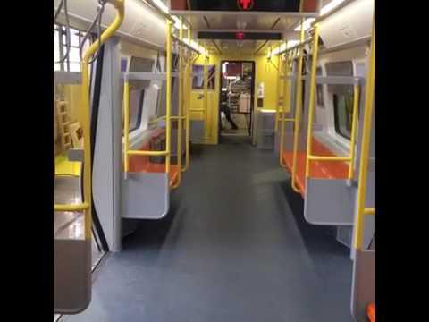 Inside The New Orange Line Mock Up Train Cars Set To Be