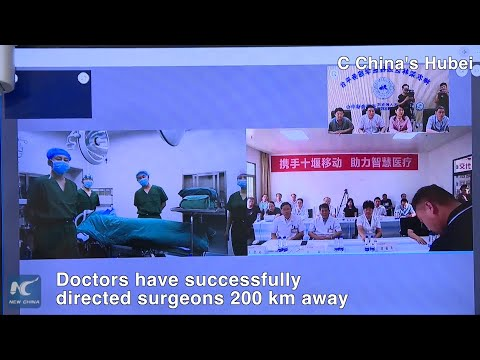5G remote surgery successful in central China