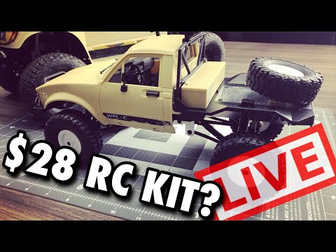 Cheapest RC Kit - WPL-C14 Live Build