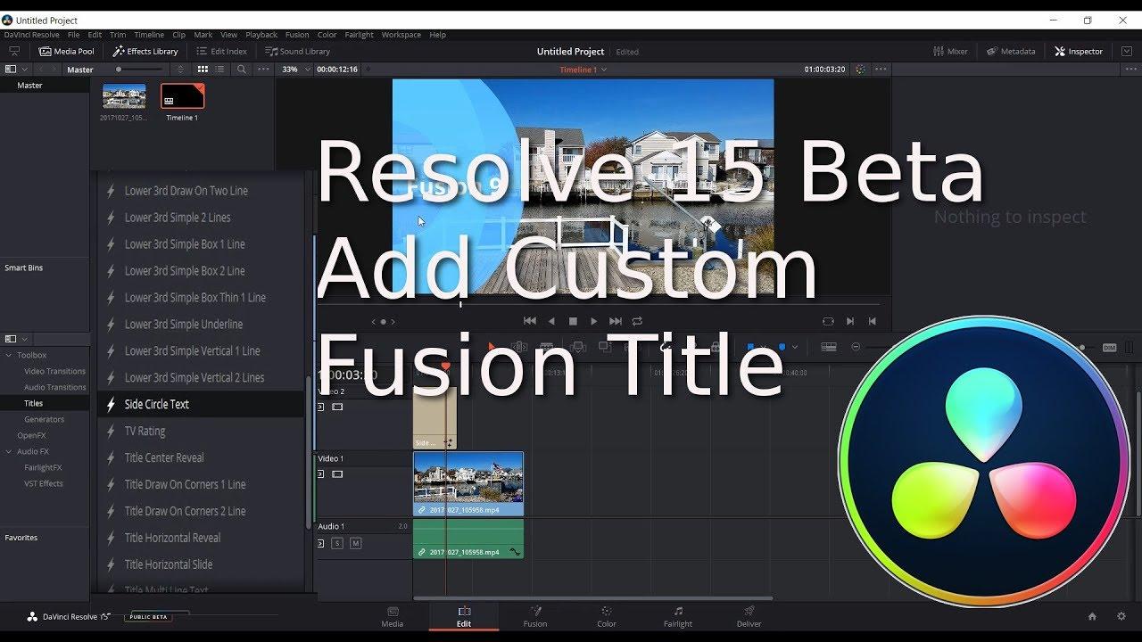 Add custom menu to thesis