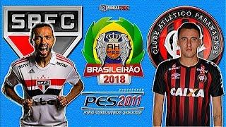 São Paulo VS. Atlético-PR (20/10/2018) Patch AHPES 2.0 - PES 2011