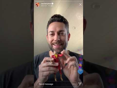 Zachary Levi Instagram Live Part 1 - February 23, 2019