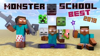 Monster School : BEST Minecraft Animations 2019
