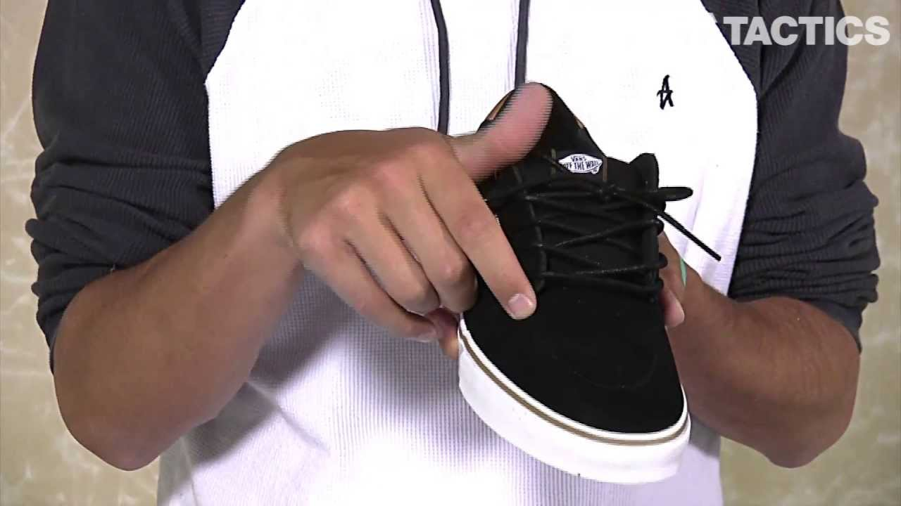 Vans Lindero Skate Shoes Review - Tactics.com - YouTube 538604044
