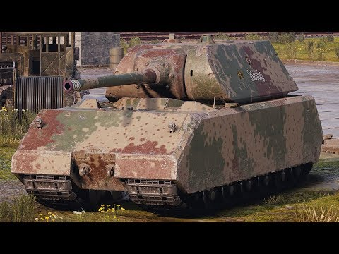 World of Tanks Maus - 8 Kills 9,8K Damage thumbnail