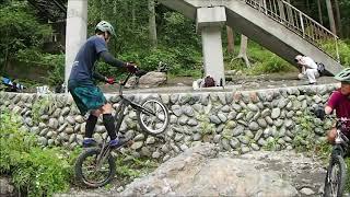 トライアル自転車 東京練習 bicycle trials Kazuki Terai 2020,9,13