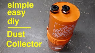 how to Make Cyclone Dust Collector for Vacuum Cleaner at home