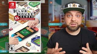 Is Clubhouse Games for Nintendo Switch A MUST BUY?!