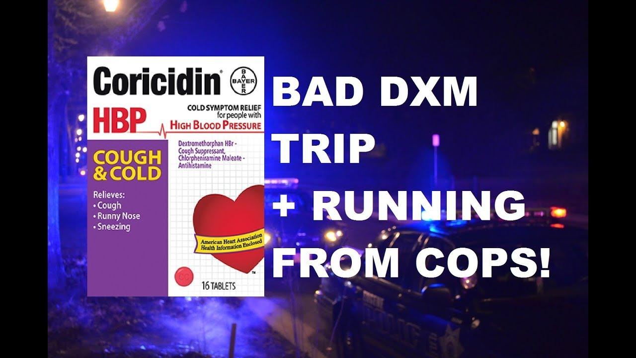 dxm trip report BAD DXM TRIP