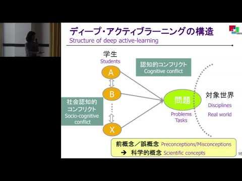 「アクティブで深い学びのための仕組み」松下 佳代(京都大学教授)