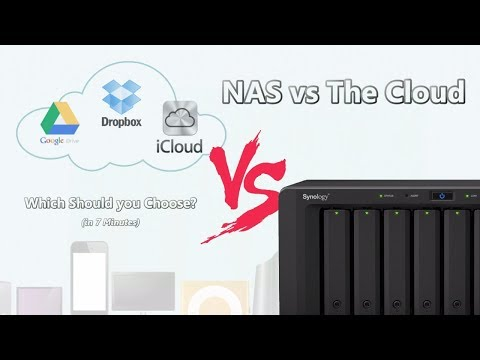 NAS vs The Cloud in 7 Minutes - Which is better for Plex, Backups, Media and more?