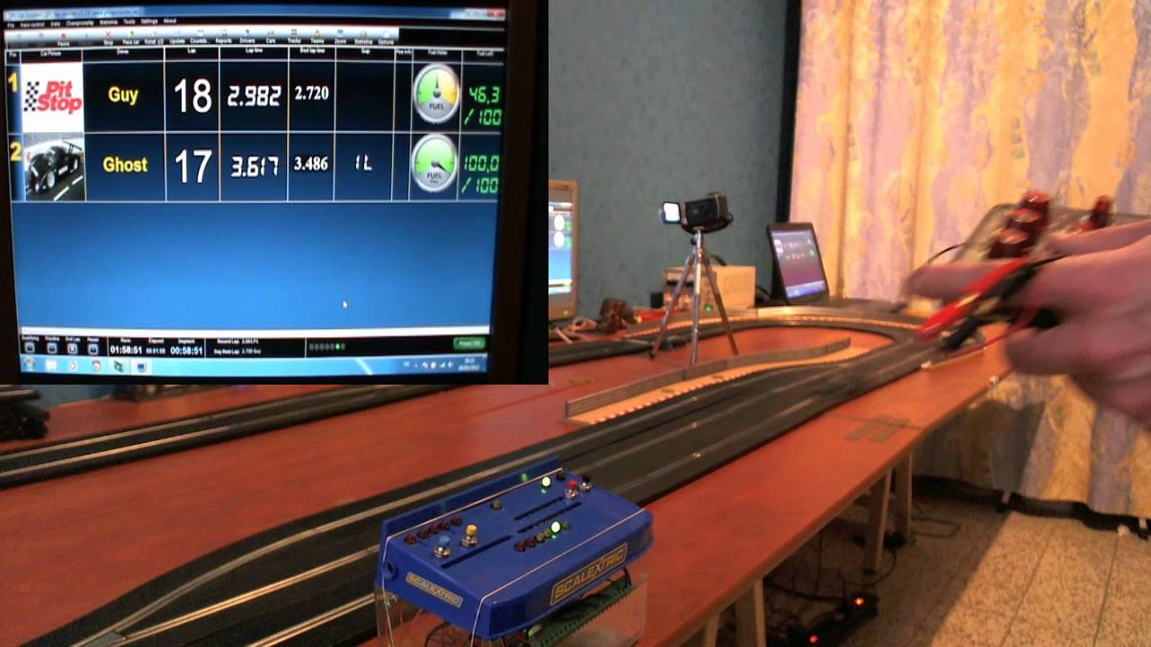 Slot Car Lap Timer Counter Hackaday
