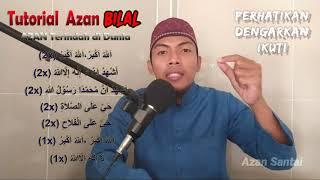 Download Tutorial azan paling merdu di dunia   Azan nafas pendek   Adzan Bilal