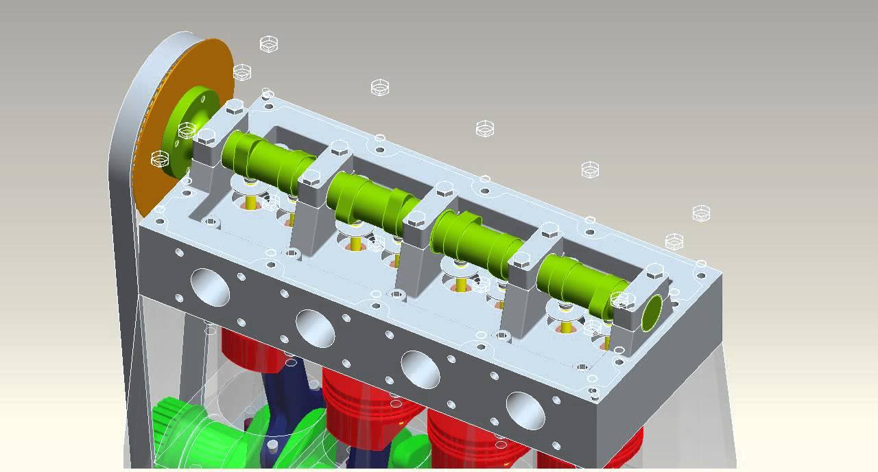 General motors engineer gives us the lowdown on ecotec 2 4 youtube - Vierzylinder 4 Takt Motor Pro Engineer Cad