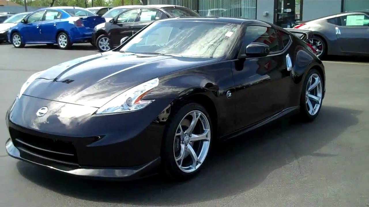 Black 2010 nissan nismo 370 z at mike barney nissan youtube vanachro Gallery