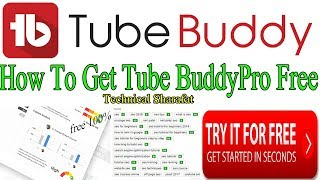 TubeBuddy pro crack || How To Get Tube Buddy Pro For Free | In Lifetime  Free | Mind Blowing Trick