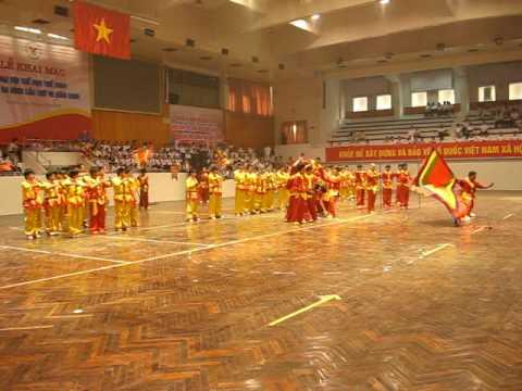 Võ Đường Thanh Phong Tai ĐHTDTT Quận Ba Đình