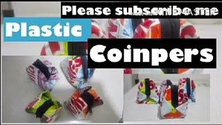 DIY/Coinpers gawa sa basurang plastic