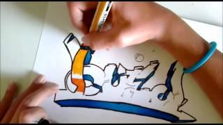 Tuto pour apprendre les bases ainsi que les étapes du graffiti (PARTIE 2)