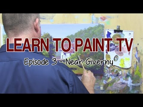 "Learn To Paint TV E3 ""Giverny"" Acrylic Painting Tutorial For Beginners"
