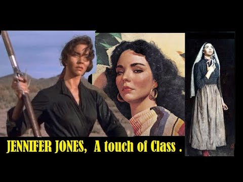 Jennifer Jones ,A Touch of Class One of the Most Stunning Actresses of All  Time !.